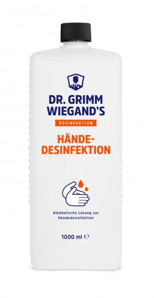 DR. GRIMM WIEGAND'S Händedesinfektion 1000ml