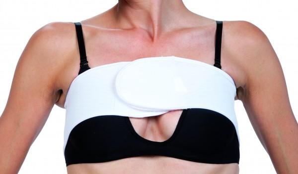 Brustgurt Single/Stuttgarter Gürtel weiss